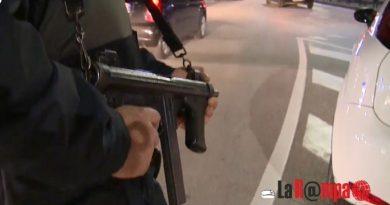 Forza posto di blocco nel Casertano: fermato albanese