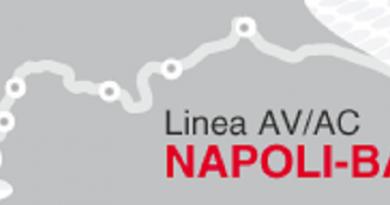 Alta Velocità, 114 mln per la Napoli-Cancello