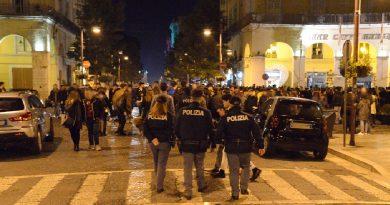 Napoli. Operazione di Polizia all'Arenella