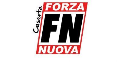"""(FOTO) Forza Nuova a Castel Volturno: """"Salvini dove sei?"""