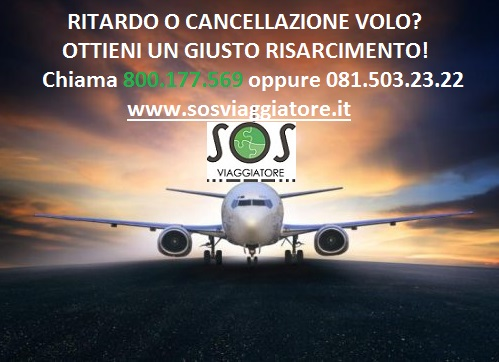 ritardo volo cancellazione volo