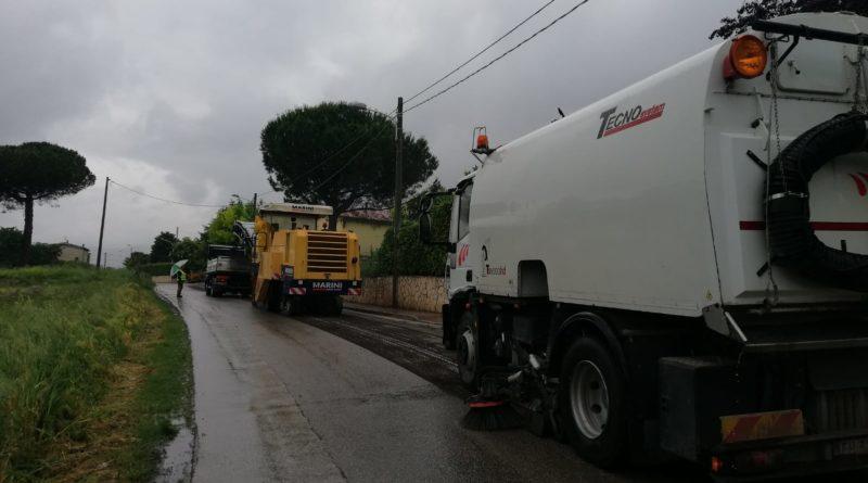 950mila euro per il rifacimento delle strade comunali di San Cipriano d'Aversa