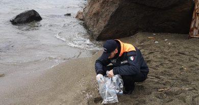 (FOTO) Gamberetti Ischia, è stata una mareggiata