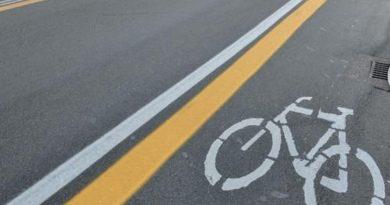 Sant'Arpino. Una pista ciclopedonale sulla provinciale Caivano-Aversa
