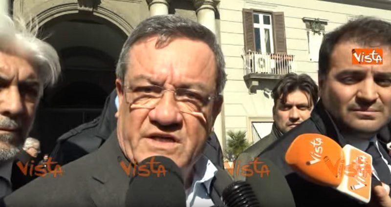 (VIDEO) Napoli. Fronte Sovranista attacca l'Autonomia di Veneto e Lombardia