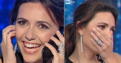 (VIDEO) Tv. Emozione e commozione a Domenica In: doppia sorpresa per Serena Rossi