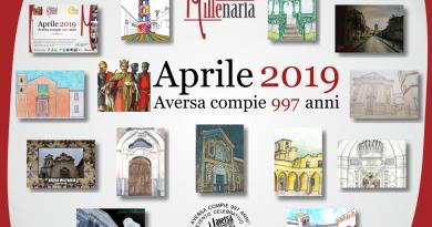 """Fresche di stampa le cartoline celebrative di """"Aversa Millenaria"""""""