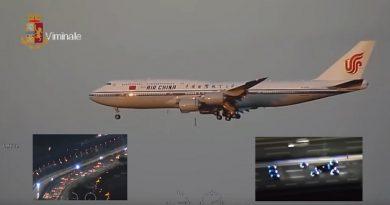 (VIDEO) Roma. L'arrivo del presidente Xi Jinping: le misure di sicurezza del Viminale
