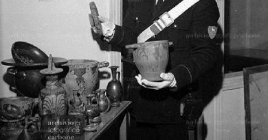 Foto inedite dei ritrovamenti archeologici avvenuti nell'Agro Aversano nel 1969