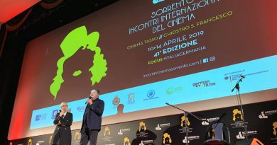 Successo per la 41ma edizione Incontri Internazionali del Cinema di Sorrento