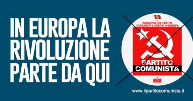 Europee, Partito Comunista presente in tutte le circoscrizioni
