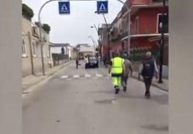 (VIDEO) Scafati. Immigrato aggredisce Carabiniere: militare reagisce sparando alle gambe