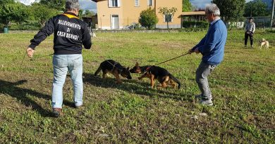 (FOTO) Sala Consilina. Inaugurata area comunale per sgambatura cani