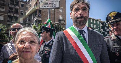(FOTO) Aversa. Il sindaco Golia a Venafro per ricordare Carabiniere vittima del dovere