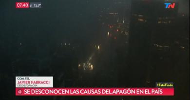 Maxi black out in Argentina e Uruguay: 50 milioni di persone senza elettricità