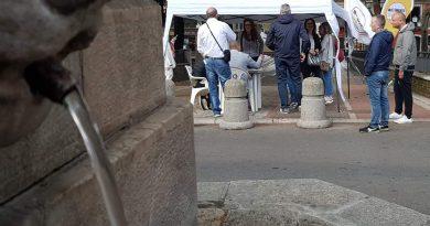 Caos rete idrica nell'Avellinese, ieri la raccolta firme