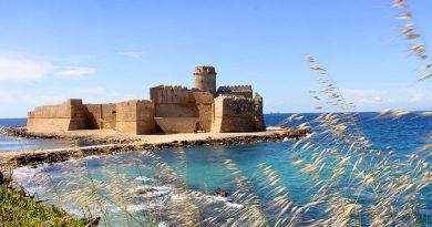 La fortezza 'Le Castella' di Isola Capo Rizzuto