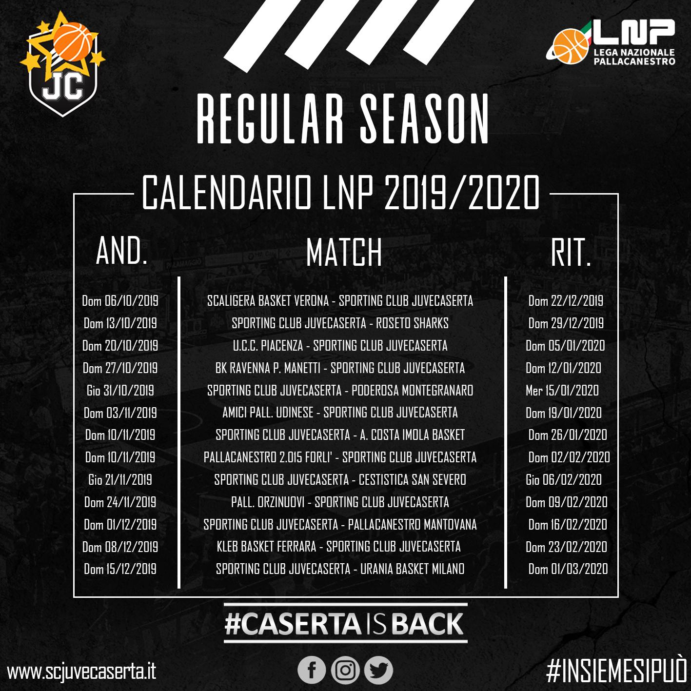Serie A2 Pallavolo Maschile Calendario.Basket Serie A2 Prima In Trasferta Per La Juve Caserta