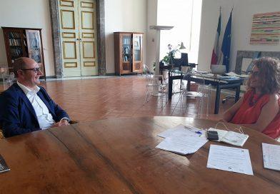 Incontro tra il presidente Consorzio Mozzarella Dop e direttore Reggia Caserta