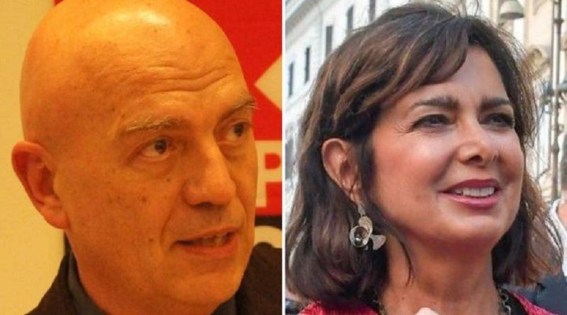 """Rizzo contro Boldrini: """"Basta con l'antifascismo a corrente alternata"""""""