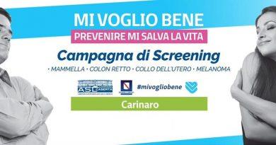Giornata della prevenzione, screening gratuiti a Carinaro