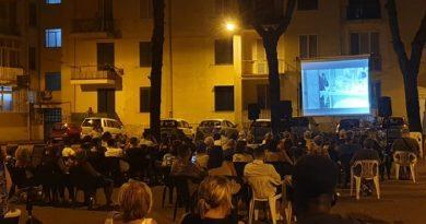 Aversa. Cinema all'aperto, tappa nel quartiere Ina Casa