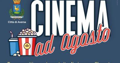 Aversa. Cinema d'agosto, proiezioni di film in città