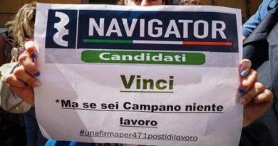 Napoli. Navigator Campania, lunedì sciopero della fame a Palazzo Santa Lucia