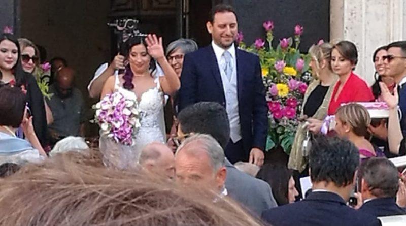 (FOTO) Maddaloni. Convolano a nozze i deputati 5Stelle Grimaldi ed Iorio