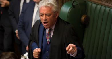 (VIDEO) Lo speaker Bercow annuncia le sue dimissioni