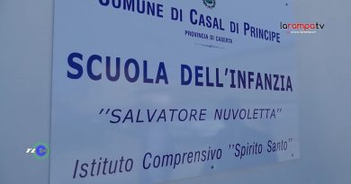 (VIDEO) Casal di Principe. Taglio del nastro della scuola 'Salvatore Nuvoletta'