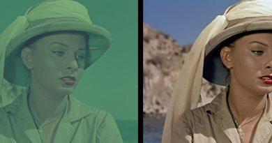 """In prima tv la versione restaurata di """"Africa sotto i mari"""" con Sophia Loren"""