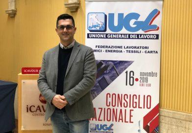 Antonio Maturo nel consiglio nazionale Ugl Chimici