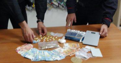 Salerno. Carabinieri arrestano 64enne per possesso stupefacenti