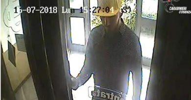 Rapina in banca a Corigliano, arresto giuglianese