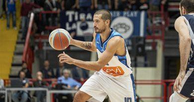 """Basket. Napoli, Chessa: """"Gara super a Bergamo"""""""
