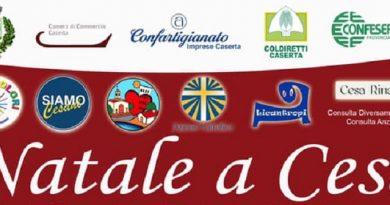 Cesa. Presentato il programma degli eventi natalizi 2019