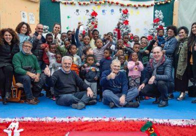 Castel Volturno. Doni ADA Campania ai bambini delle famiglie disagiate del Centro Laila