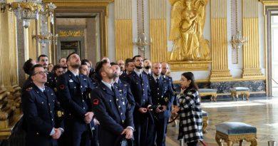Aeronautica Militare, i futuri Sergenti alla scoperta della Reggia di Caserta