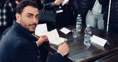 Teverola. Io, Lui e la Tourette: presentato il nuovo libro di Antonio Laudadio con Pasquale Gnasso