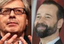 """Salvini e il pusher, Sgarbi a Fabio Volo: """"Non è detto che non suoni a casa tua…"""""""