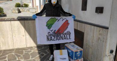Coronavirus, Solidarietà Nazionale Salerno in campo per le famiglie in difficoltà