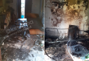 (FOTO) Aversa. Casa distrutta dalle fiamme, da giorni vive in auto: aspetta aiuto dal Comune