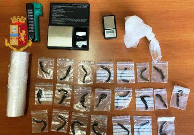 Detenzione ai fini di spaccio sostanze stupefacenti: arrestato 28enne