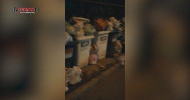 (VIDEO) Aversa. Segnalazione cittadino: rifiuti abbandonati in via della Repubblica