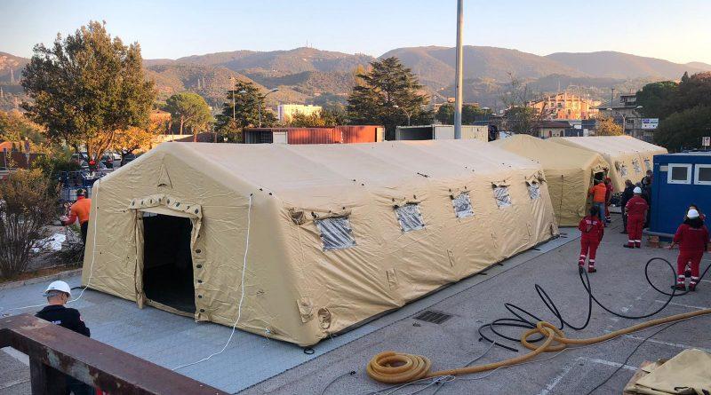 Covid, Emergency gestirà ospedale da campo di Crotone