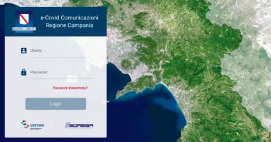 Online e-Covid comunicazioni, la piattaforma sull'andamento epidemiologico per i sindaci campani