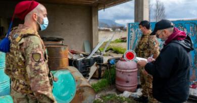 Terra dei Fuochi, risultati operazione Interforze nel mese di febbraio