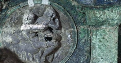 Eros and marriage, new carriage discovered at Pompeii