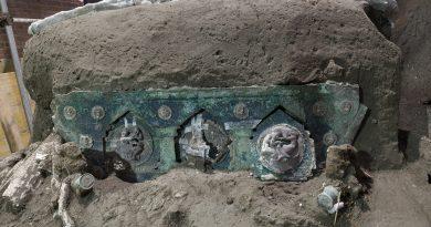 (FOTO/VIDEO) Eros e nozze, a Pompei ritrovato un carro mai visto